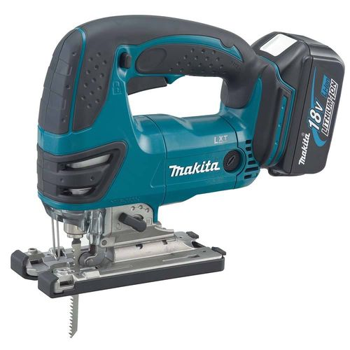 Makita DJV180RMJ_LED pistosaha 18V, 2x4.0Ah, 3-as. heiluri, puu 135mm, LED-valo