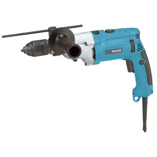 Makita HP2071FJ iskuporakone LED-valo 1010W 0-1200 / 2900 r/min, pikaistukka 13mm, 36Nm/15Nm