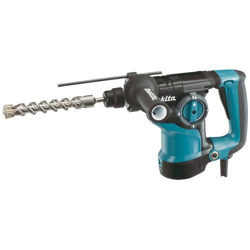 Makita HR2811F poravasara SDS-Plus, 800W, bet. 28mm, 3,5kg, 2,8J, LED-valo