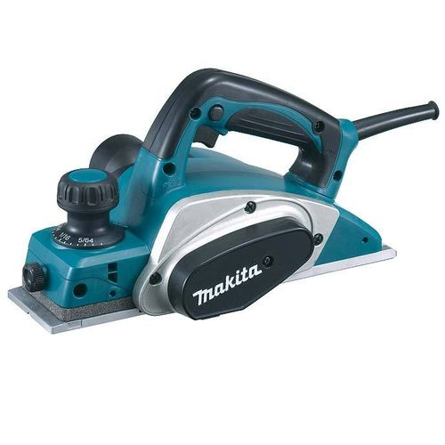 Makita KP0800 höylä 82mm, 0-2,5mm, 620W, 2,6kg, huullos 9mm